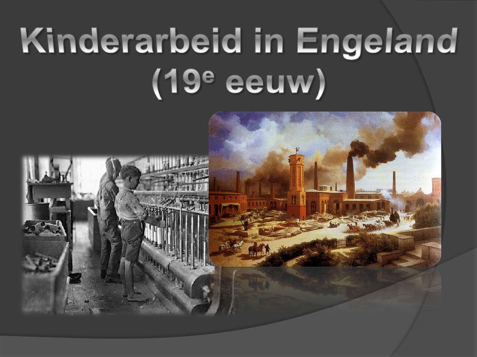 Kinderarbeid in Engeland (19e eeuw)