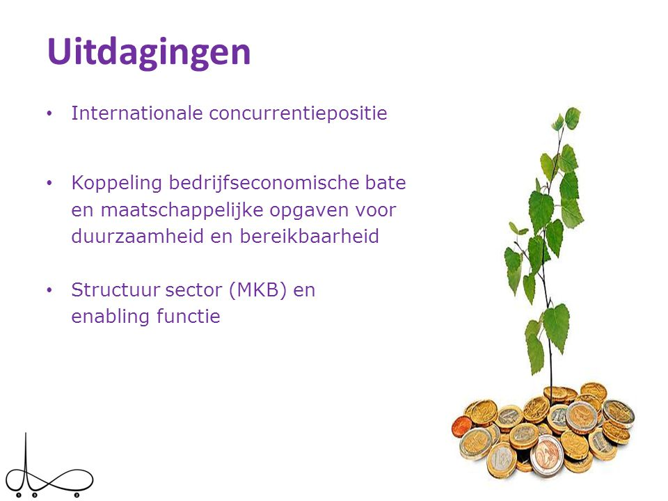 Uitdagingen Internationale concurrentiepositie