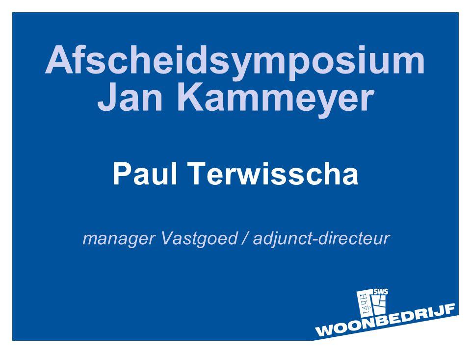 Afscheidsymposium Jan Kammeyer