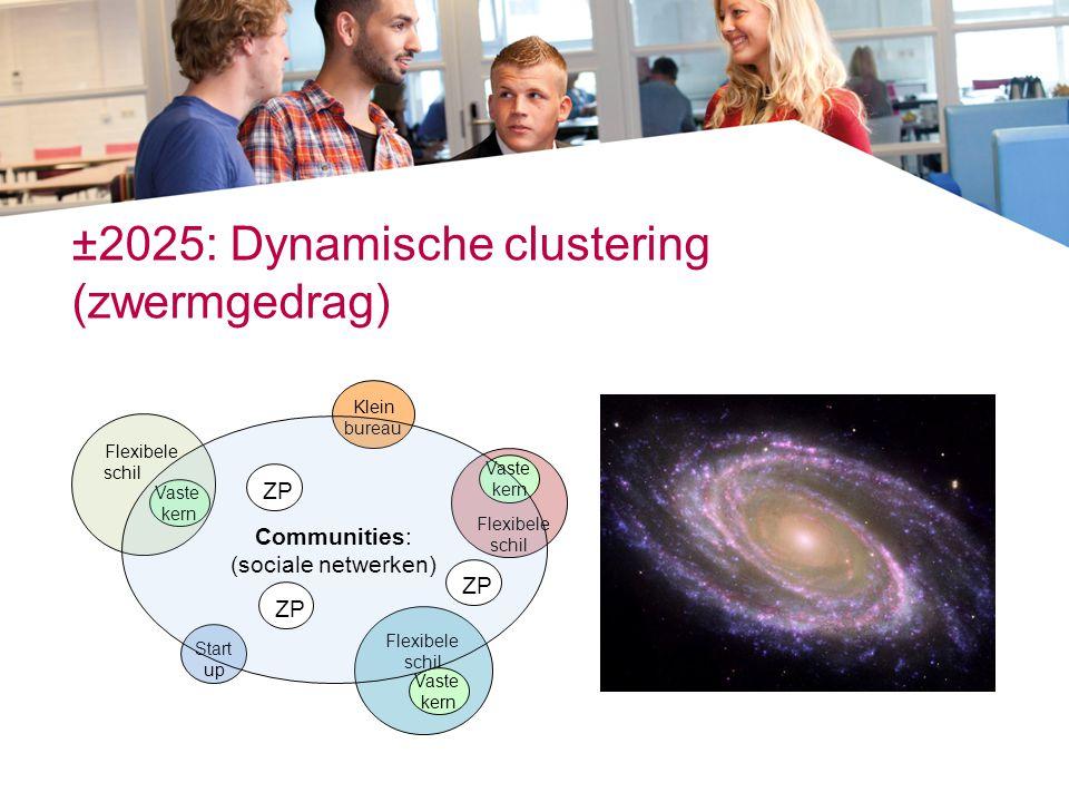 ±2025: Dynamische clustering (zwermgedrag)
