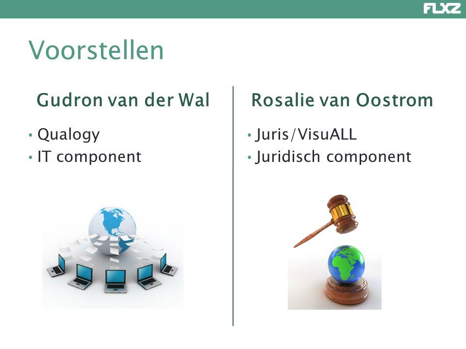 Voorstellen Gudron van der Wal Rosalie van Oostrom Qualogy
