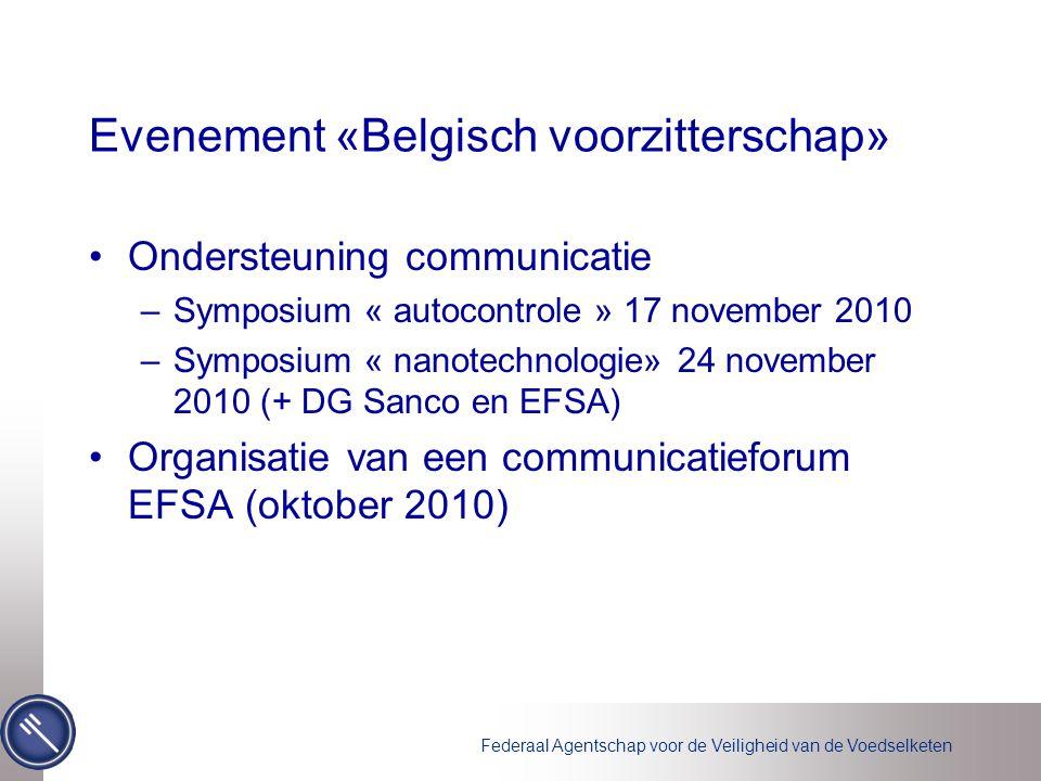 Evenement «Belgisch voorzitterschap»