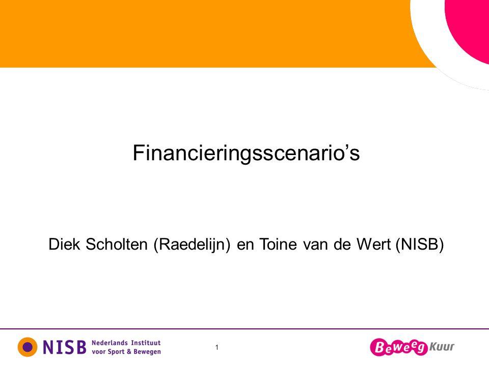 Financieringsscenario's