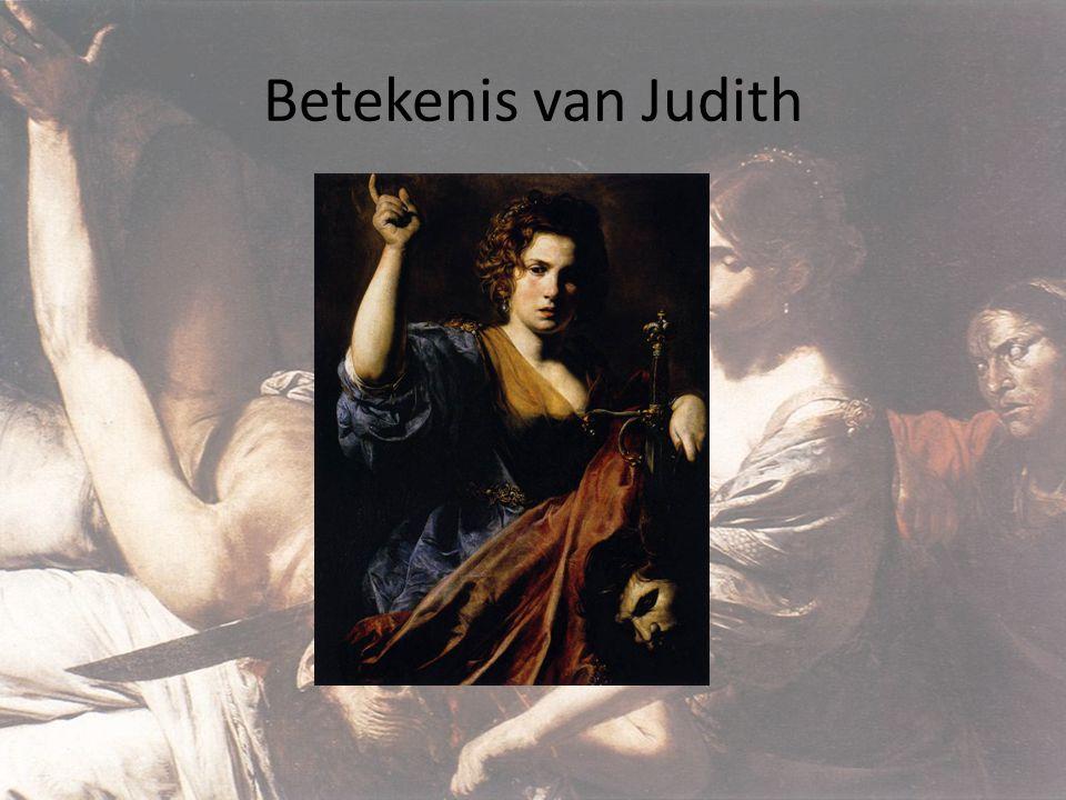 Betekenis van Judith