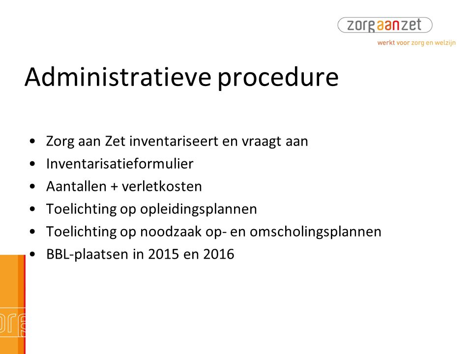 Administratieve procedure