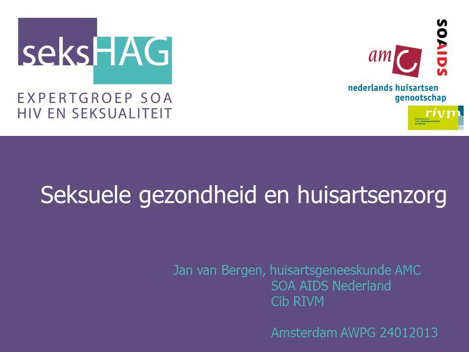 Seksuele gezondheid en huisartsenzorg