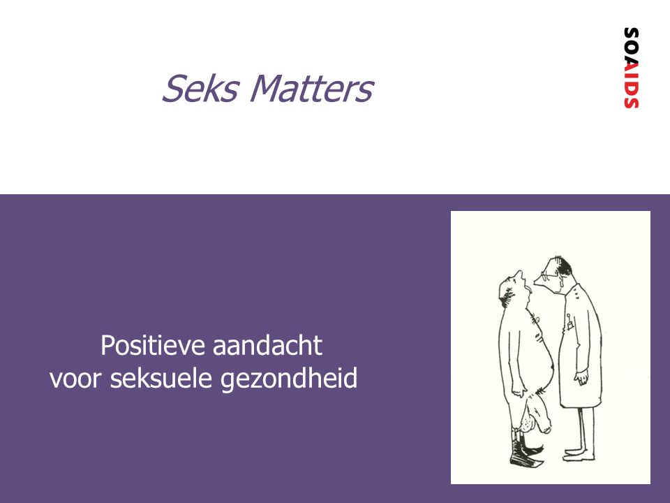 Positieve aandacht voor seksuele gezondheid