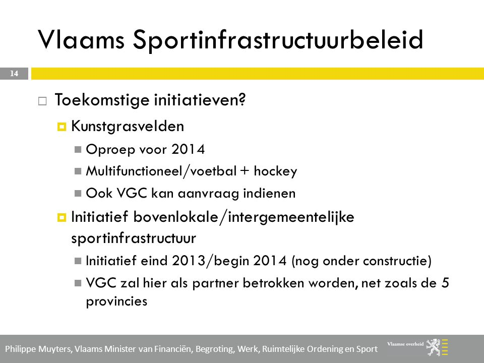 Vlaams Sportinfrastructuurbeleid