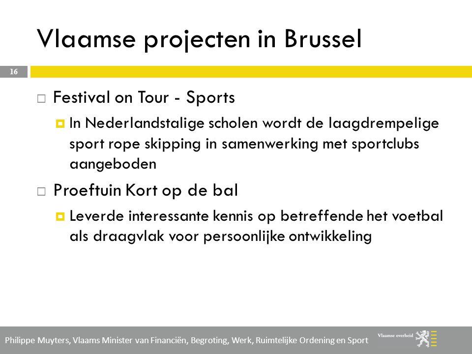 Vlaamse projecten in Brussel