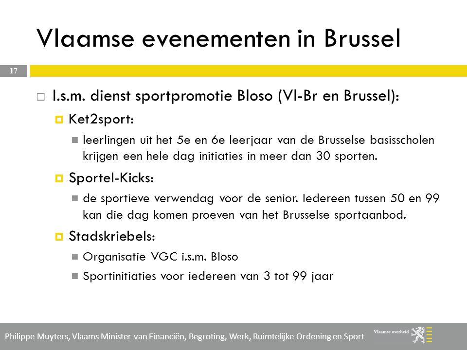 Vlaamse evenementen in Brussel