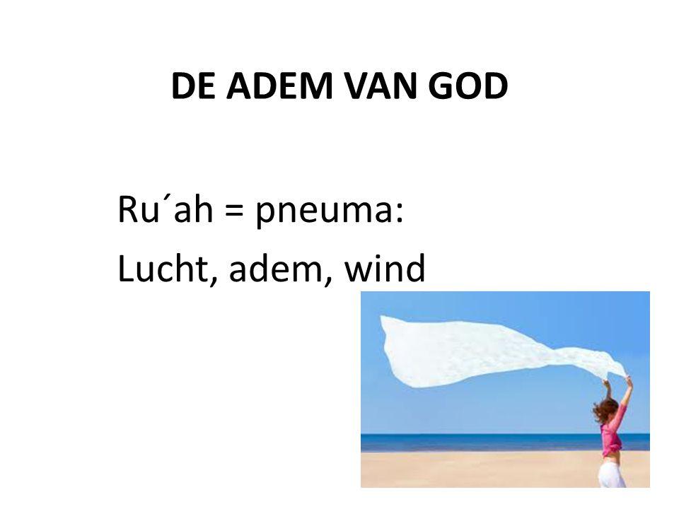 Ru´ah = pneuma: Lucht, adem, wind