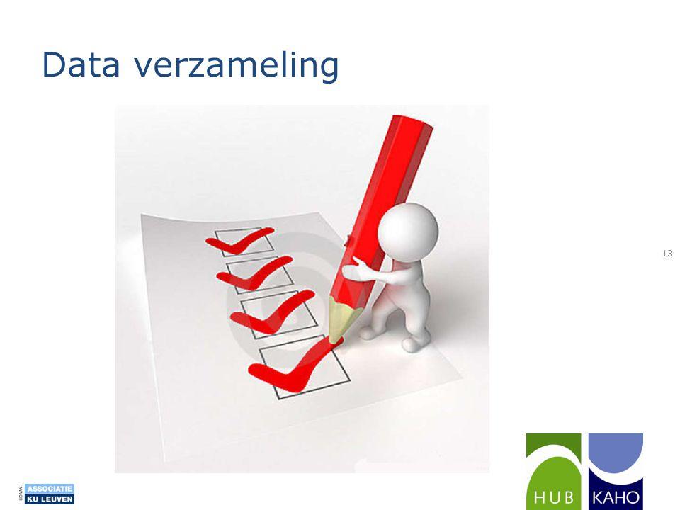 Data verzameling