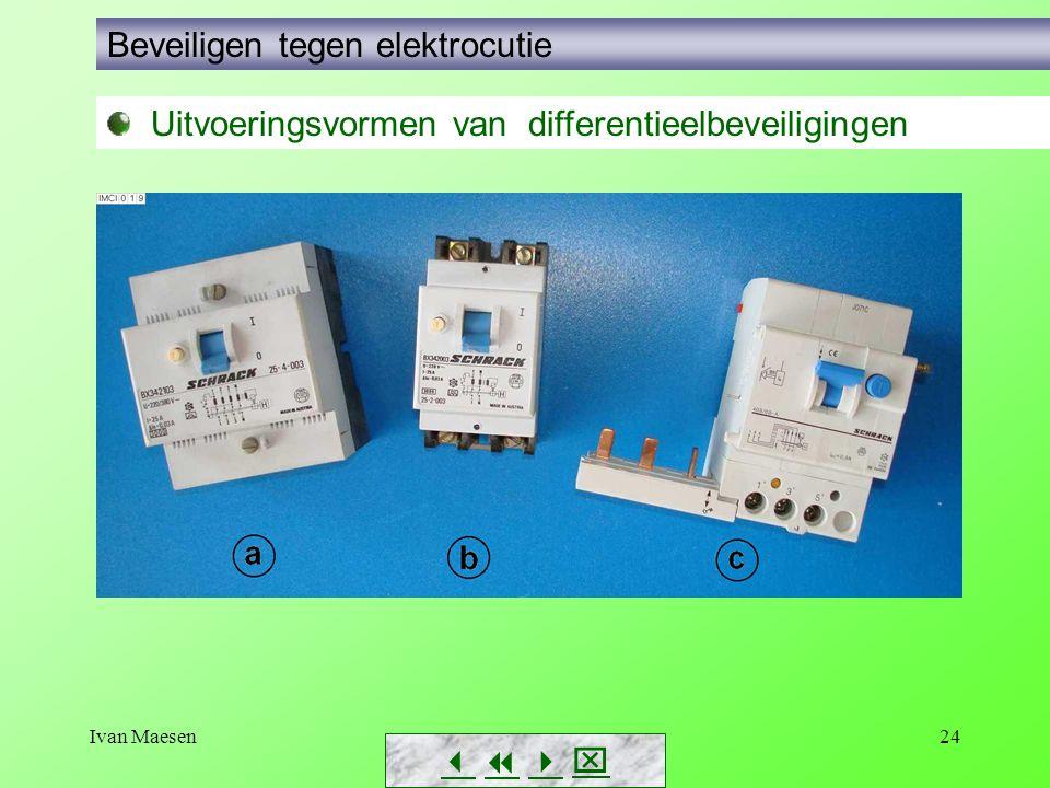Beveiligen tegen elektrocutie