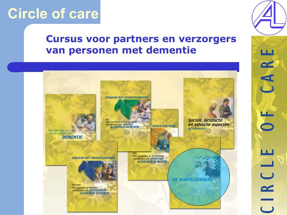 Circle of care Cursus voor partners en verzorgers van personen met dementie.