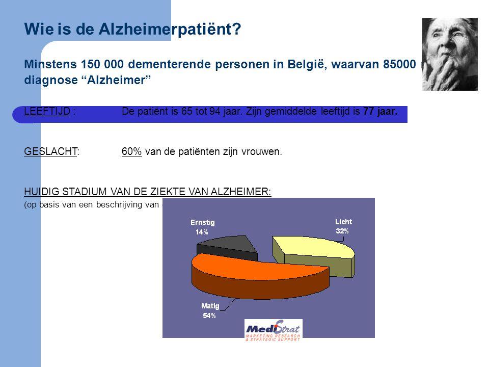 Wie is de Alzheimerpatiënt