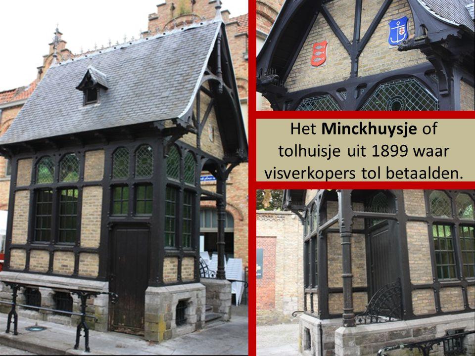 Het Minckhuysje of tolhuisje uit 1899 waar visverkopers tol betaalden.