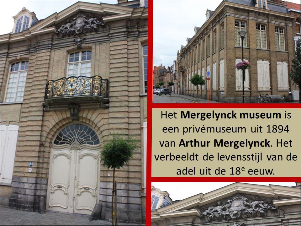 Het Mergelynck museum is een privémuseum uit 1894 van Arthur Mergelynck.