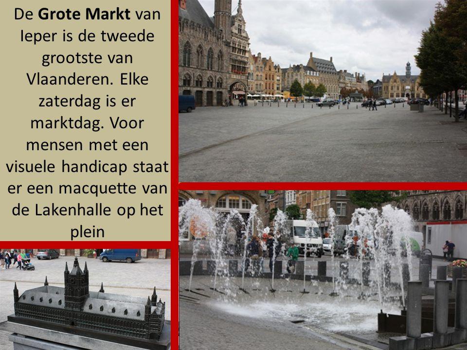 De Grote Markt van Ieper is de tweede grootste van Vlaanderen