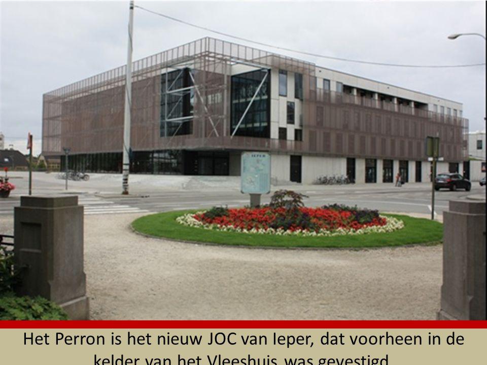 Het Perron is het nieuw JOC van Ieper, dat voorheen in de kelder van het Vleeshuis was gevestigd.