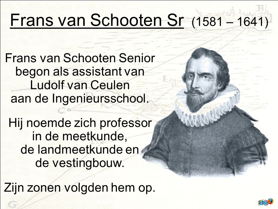 Frans van Schooten Sr (1581 – 1641)