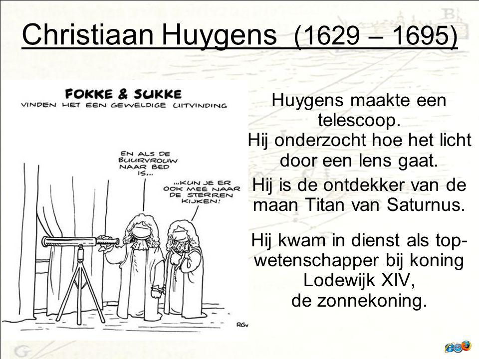 Christiaan Huygens (1629 – 1695)