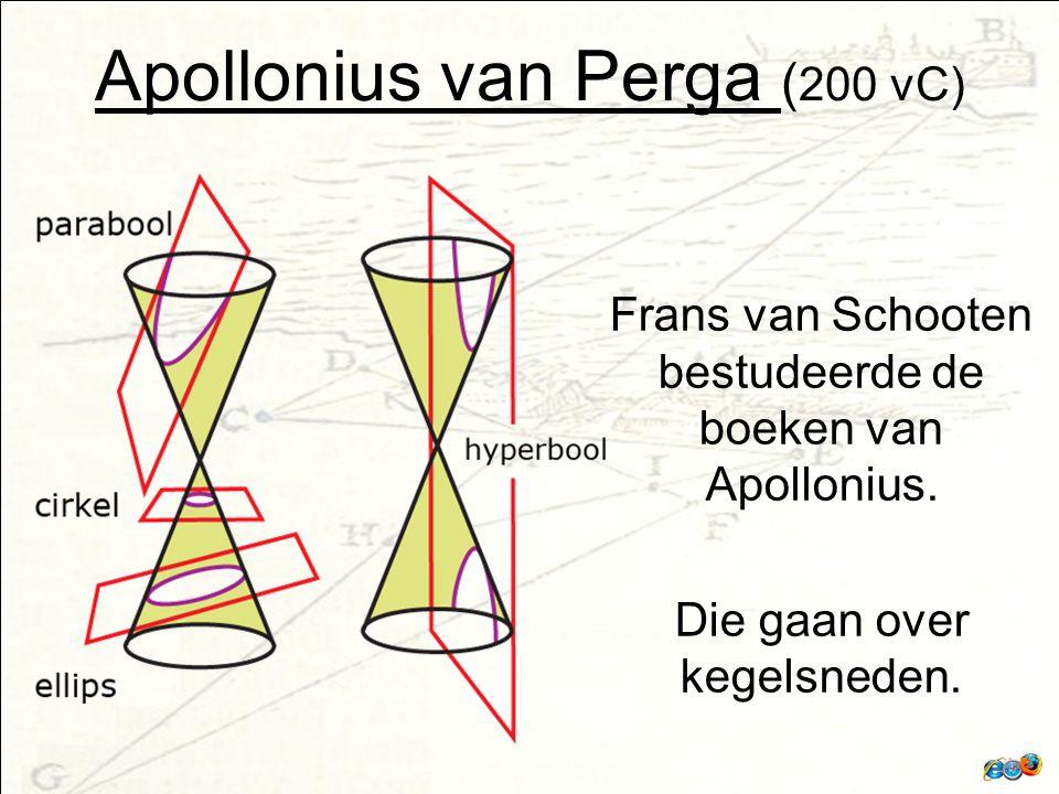 Apollonius van Perga (200 vC)
