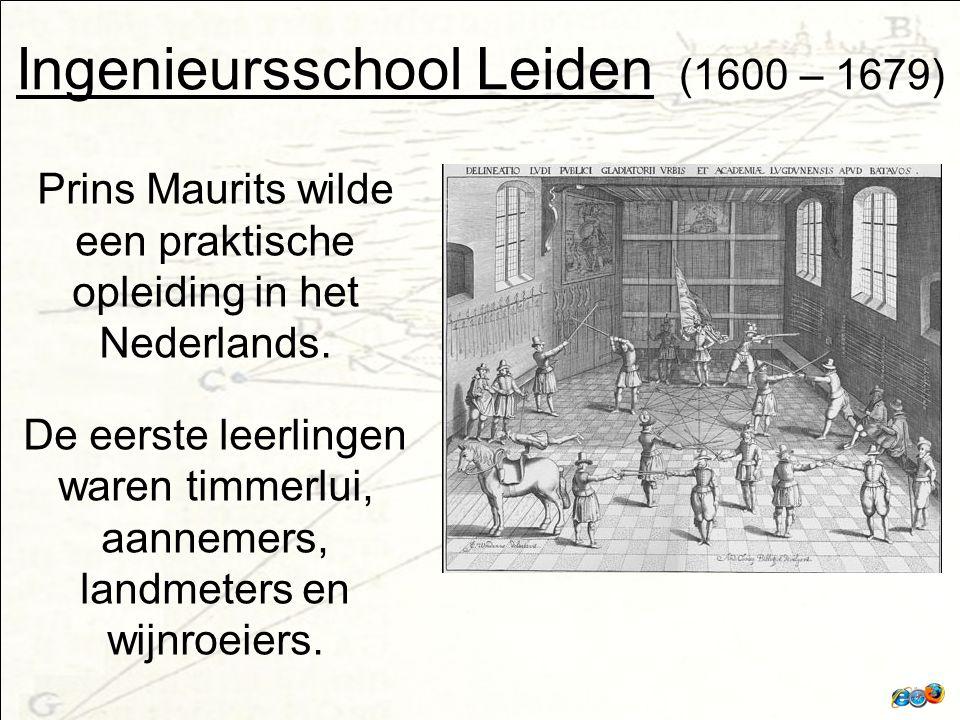 Ingenieursschool Leiden (1600 – 1679)