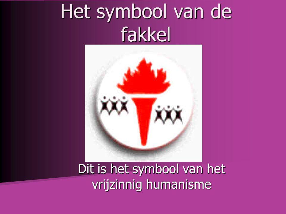 Het symbool van de fakkel