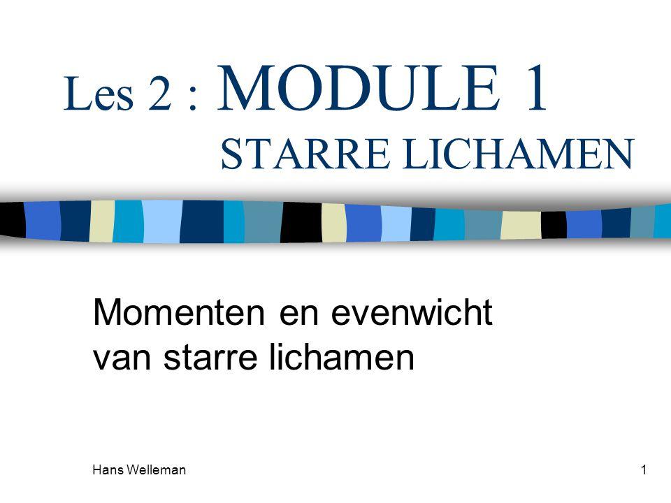 Les 2 : MODULE 1 STARRE LICHAMEN