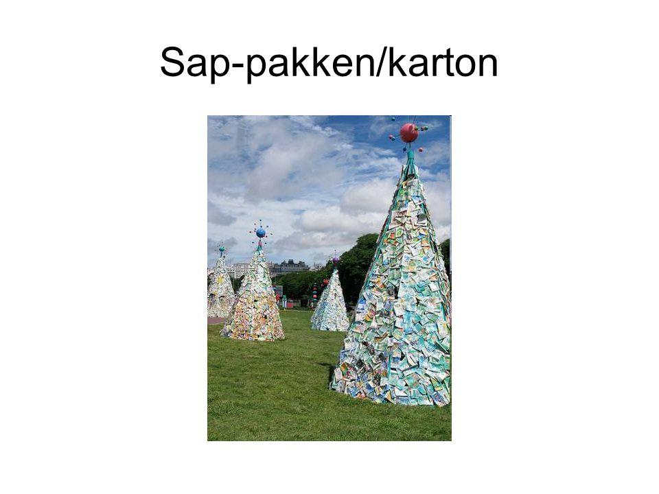 Sap-pakken/karton