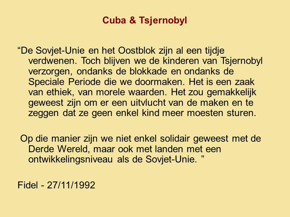 Cuba & Tsjernobyl