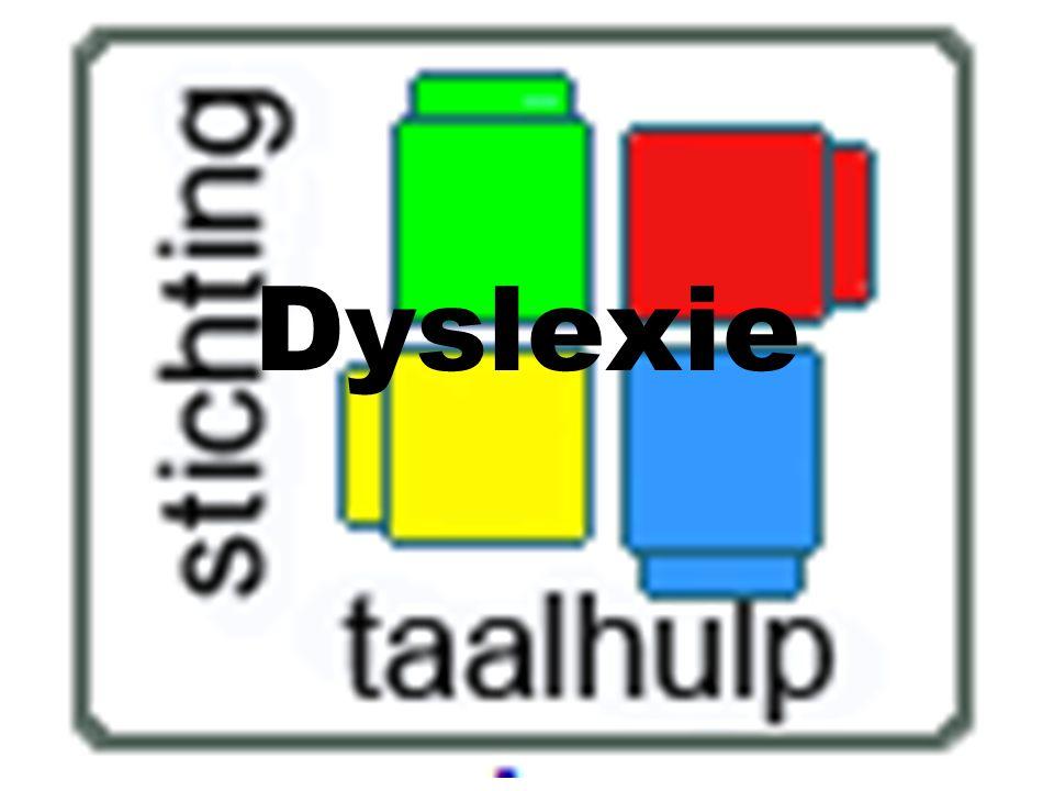 Dyslexie Deze spreekbeurt van Eva, groep 6, gemaakt voor school, november 2011.