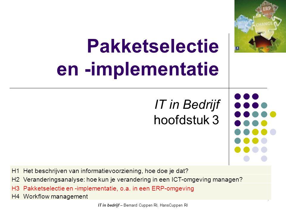 Pakketselectie en -implementatie