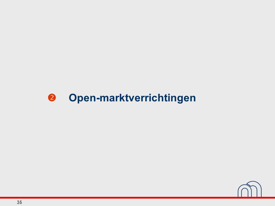  Open-marktverrichtingen