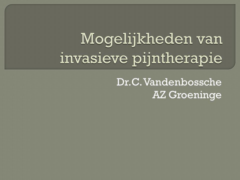 Dr.C. Vandenbossche AZ Groeninge