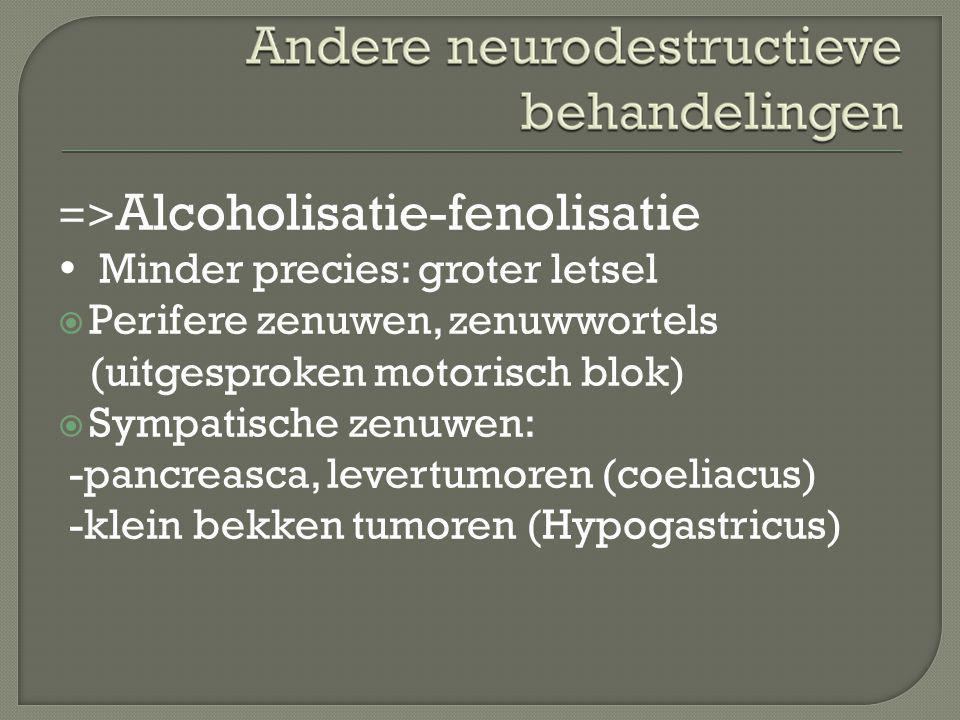 =>Alcoholisatie-fenolisatie