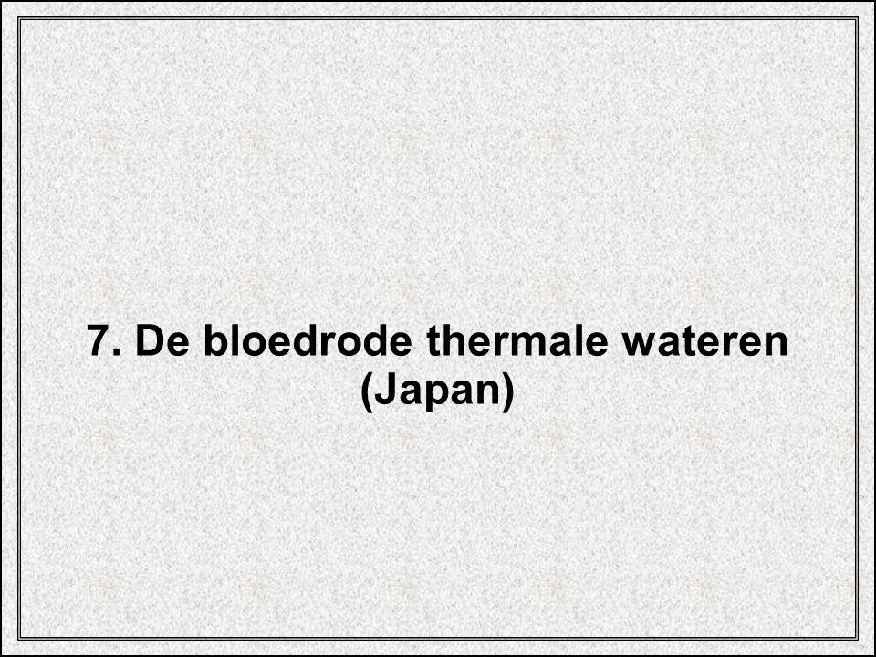 7. De bloedrode thermale wateren
