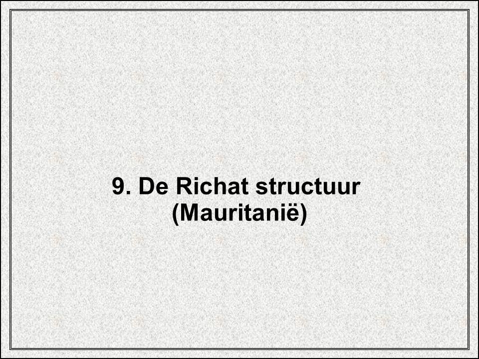9. De Richat structuur (Mauritanië)