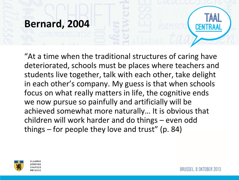 Bernard, 2004
