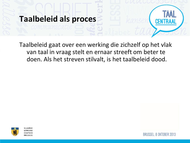 Taalbeleid als proces
