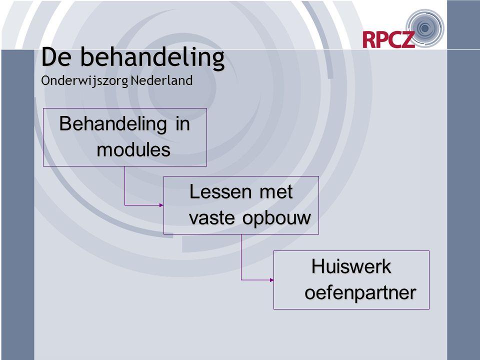 De behandeling Onderwijszorg Nederland