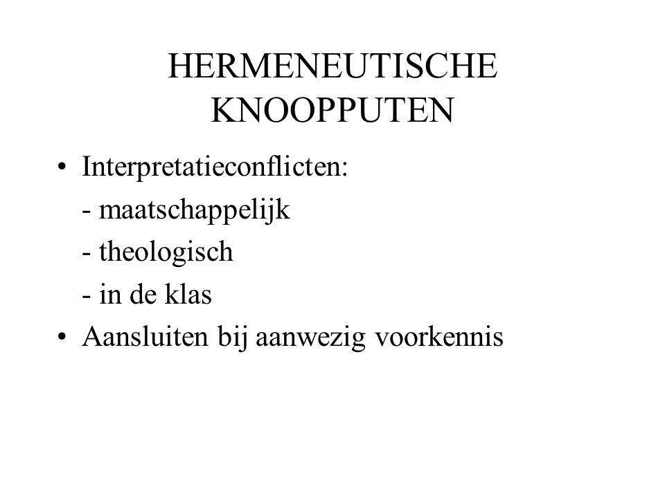 HERMENEUTISCHE KNOOPPUTEN