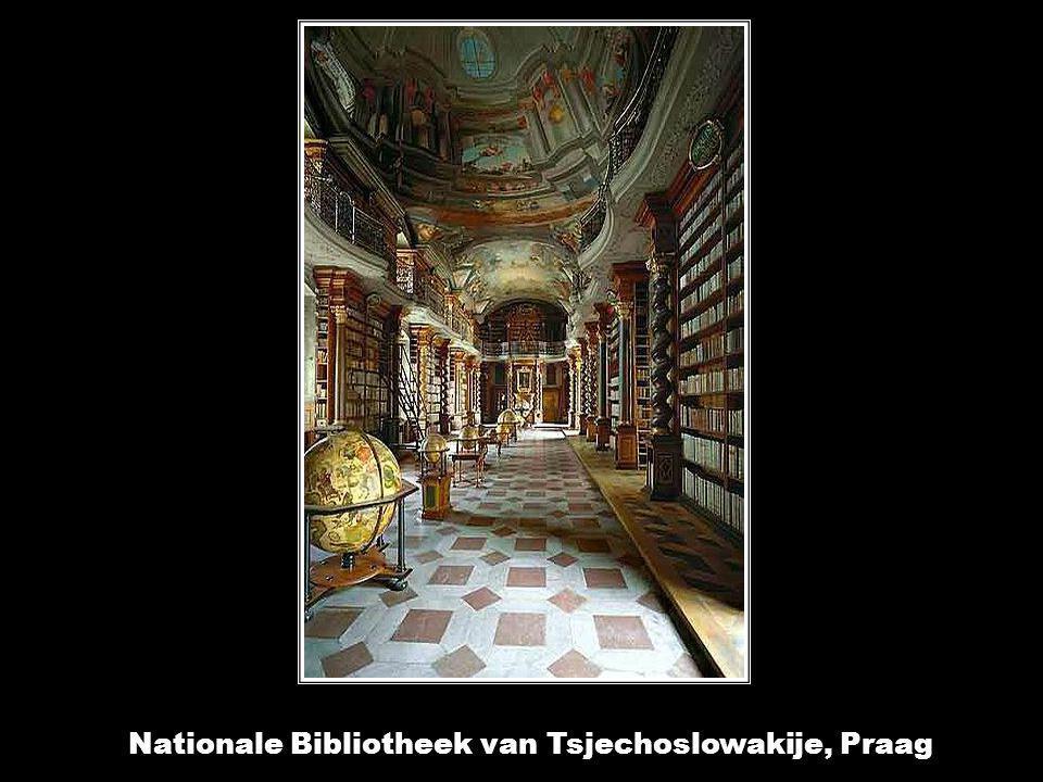 Nationale Bibliotheek van Tsjechoslowakije, Praag