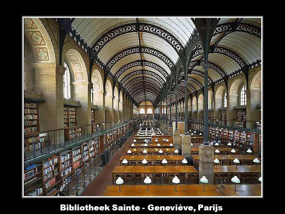 Bibliotheek Sainte - Geneviève, Parijs