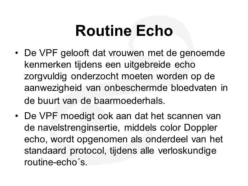 Routine Echo