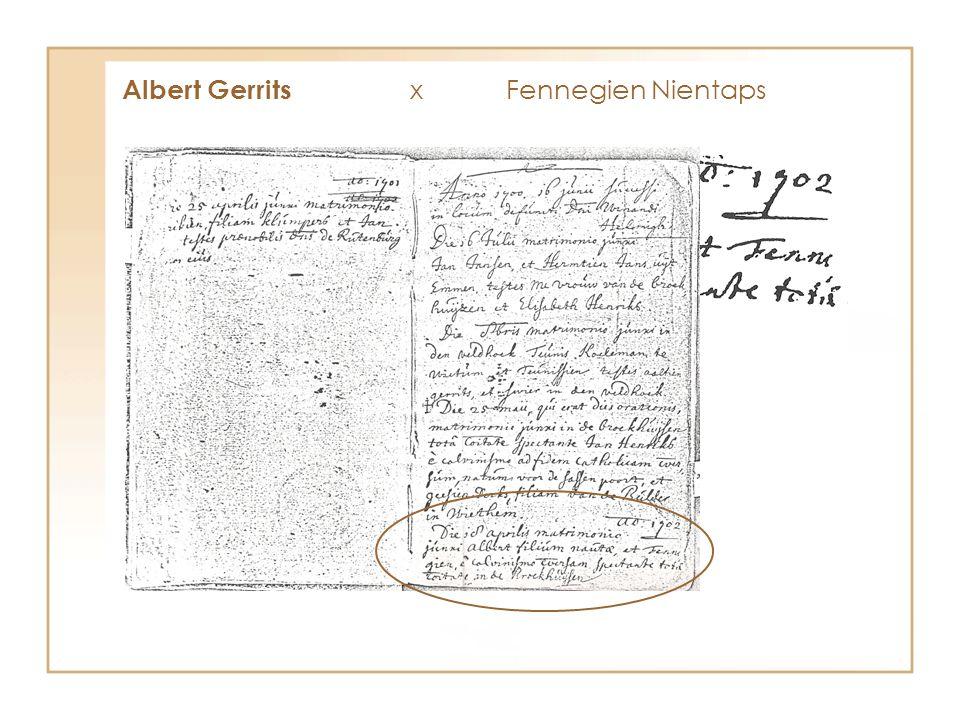 Albert Gerrits x Fennegien Nientaps