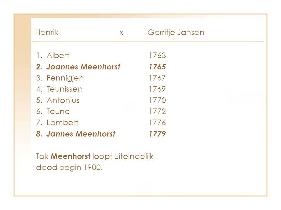 Henrik x Gerritje Jansen