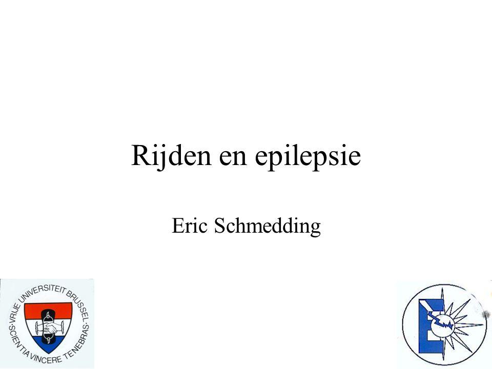 Rijden en epilepsie Eric Schmedding