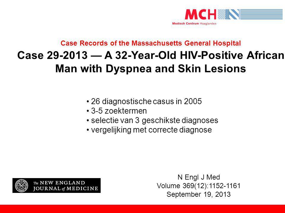 26 diagnostische casus in 2005 3-5 zoektermen