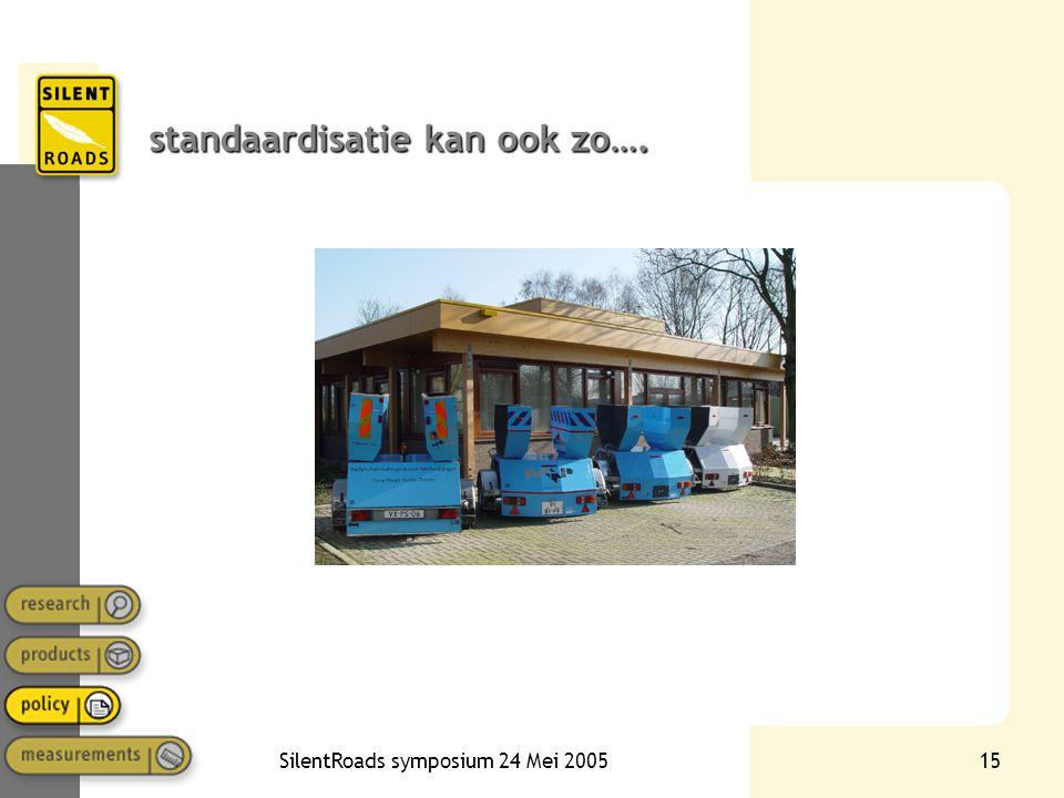 standaardisatie kan ook zo….